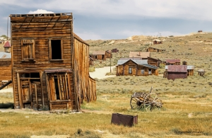 Downtown Bodie-ghost town