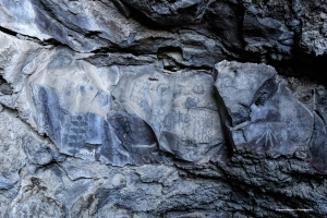 Beautiful Modoc pictographs