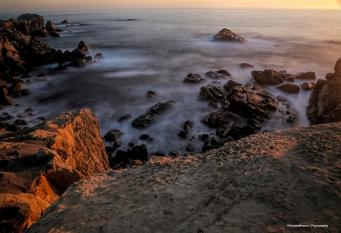 Sunset at Ocean Cove