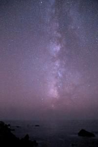 Milky Way setting