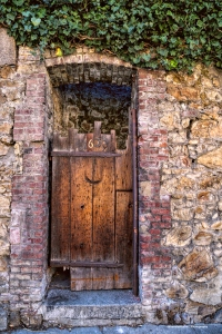 Beautiful old doorway