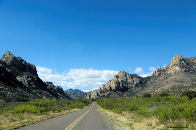 Entering Cave Creek Canyon
