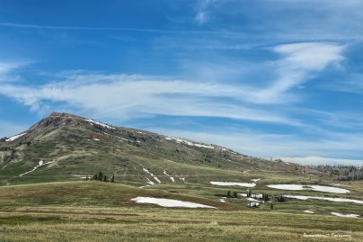 and this is the view East...Alpine meadows. It is such a contrast.
