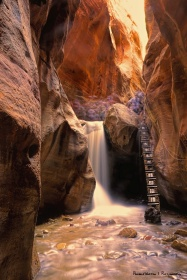 Kanarra slot canyon-long exposure B