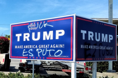 I don't think some folks in PB like Trump much;)