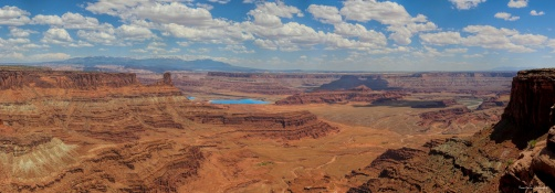 The view from the visitor center