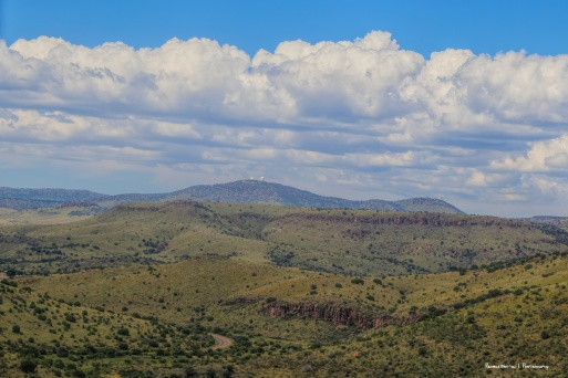 MCDonald Observatory in the distance