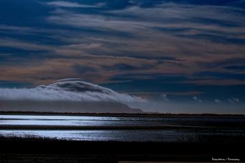 Moon over Punta Banda