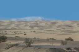 I 8 passes through the Algondones dunes, a narrow but long strip of wilderness