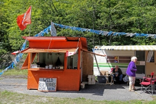 Last weekend for the Wild Blueberry stands
