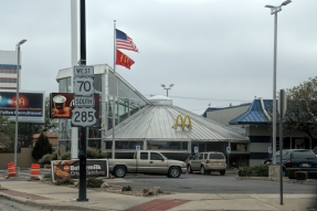 Alien McDonalds, but then aren't all McDonalds alien;)