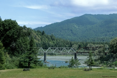 The Eel River runs behind the RV Park and all along the Avenue of the Giants
