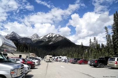 Lake Louise Parking lot