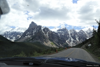 Road into the Valley of the Ten Peaks