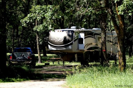 Our campsite #740
